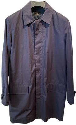 A.P.C. Purple Cotton Coats