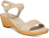 White Mountain Corky Wedge Sandals