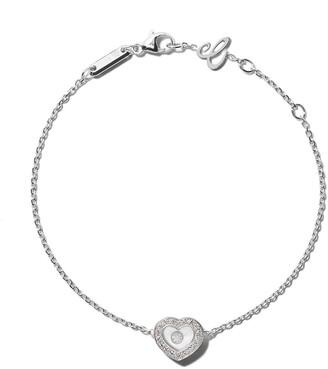 Chopard 18kt white gold Happy Diamonds Icons bracelet