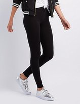 Charlotte Russe Stretch Cotton Leggings