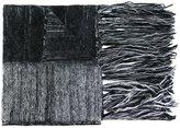 Ilaria Nistri fringed striped scarf - women - Silk/Polyamide/Mohair/Merino - One Size