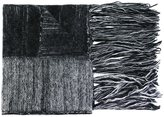 Ilaria Nistri fringed striped scarf