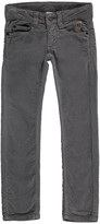 Imps & Elfs Velour Slim Trousers with Five Pockets
