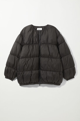 Weekday Kai Short Puffer Jacket - Black