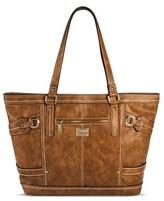 Bolo Women's Tote Handbag - Saddle Brown