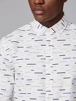 Frank + Oak Color Field Print Oxford Shirt