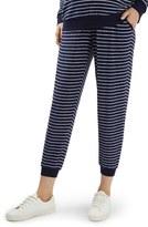 Topshop Women's Stripe Jogger Maternity Pants