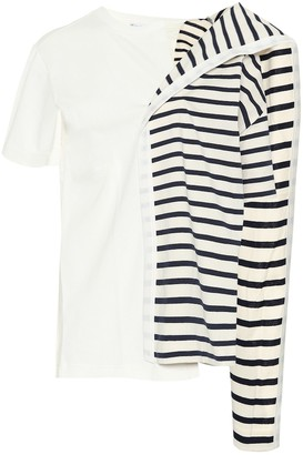 J.W.Anderson Striped cotton T-shirt