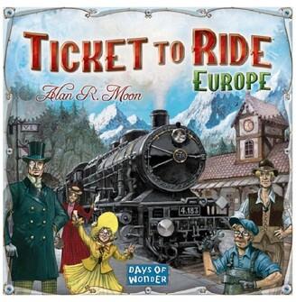 Asmodee Ticket To Ride Europe Board Game