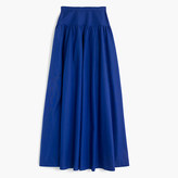 J.Crew Collection crinoline skirt in deep violet