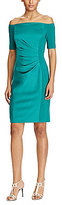 Lauren Ralph Lauren Off-the-Shoulder Satin Dress