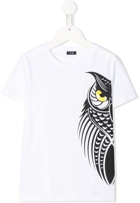 Il Gufo owl print T-shirt