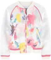 Simonetta Printed teddy jacket