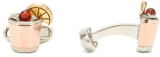 Paul Smith Whiskey Sour Cufflinks - Gold Multi