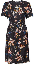 French Connection Elvia Meadow Belted Dress