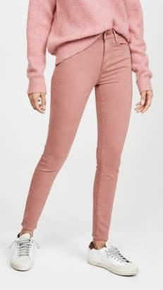 Frame Le High Skinny Sateen Jeans