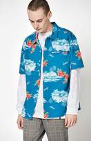 Brixton Buellwe Short Sleeve Button Up Shirt