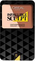 L'Oreal Infallible Sculpt Contour Palette Light / Medium 10g