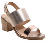 George Metallic Heeled Sandals