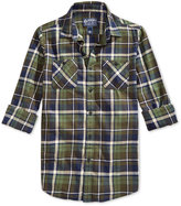 American Rag Men's Plaid Flannel Long-Sleeve Shirt, Only at Macy's