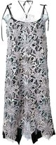 Antonio Marras embellished lace overlay dress - women - Silk/Acrylic/Polyamide/Metallic Fibre - 40