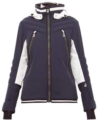 Toni Sailer Cosima Colour-block Soft-shell Ski Jacket - Womens - Navy