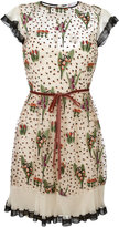 RED Valentino floral print dress - women - Polyester/Polyamide - 40
