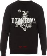 Off-White Downtown cotton sweatshirt