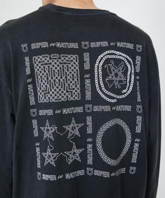 Ksubi Super Nature Longsleeve T-Shirt Back To Black