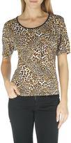 TanJay Tan Jay Women's Tan Jay Leopard Print T-Shirt