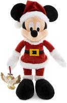 Disney Santa Mickey Mouse Plush with Owl - Medium - 15''