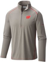 Columbia Men's Wisconsin Badgers Tuk Mountain Performance Pullover