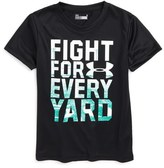 Under Armour Fight for Every Yard HeatGear ® T-Shirt (Toddler Boys & Little Boys)