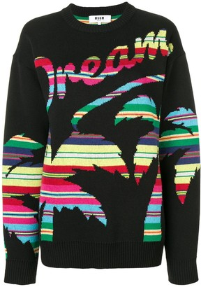 MSGM oversized Dream sweater
