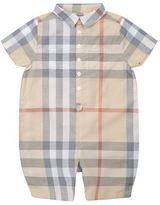 Burberry Check Bodysuit