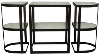 French Country Collections Astrid 3 Part Console Table