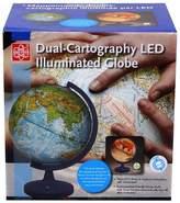 "EDU-Toys 11"" Dual Cartography Illuminated Globe"