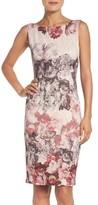 Adrianna Papell Petite Women's Embellished Sheath Dress