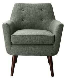 Thumbnail for your product : TOV Furniture Clyde Grey Linen Chair