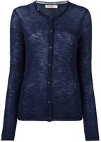Sun 68 fine knit cardigan - women - Polyamide/Merino/Alpaca - M