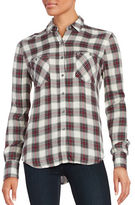 True Religion Cotton Plaid Shirt