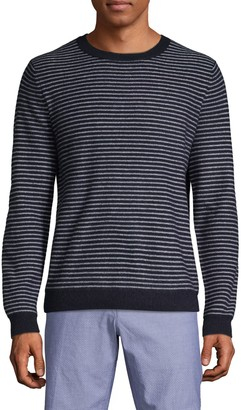 Saks Fifth Avenue Striped Cashmere Sweater