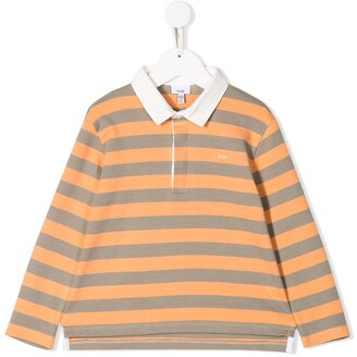 Knot rugby style polo T-shirt
