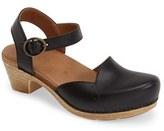Dansko Women's 'Maisie' Ankle Strap Leather Pump