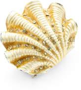 Kim Seybert Ivory Coast Shell Napkin Ring
