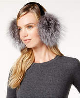 Surell Velvet Band Fox Fur Earmuffs