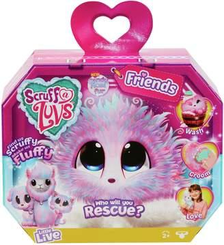 Scruff A Luvs Scruff a Luvs Surprise Rescue Pet Soft Toy Candy Floss