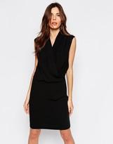 Selected Timla Wrap Front Dress