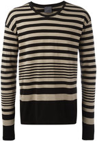 Laneus striped sweater - men - Cotton/Nylon - XS