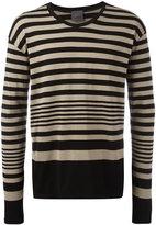 Laneus striped sweater